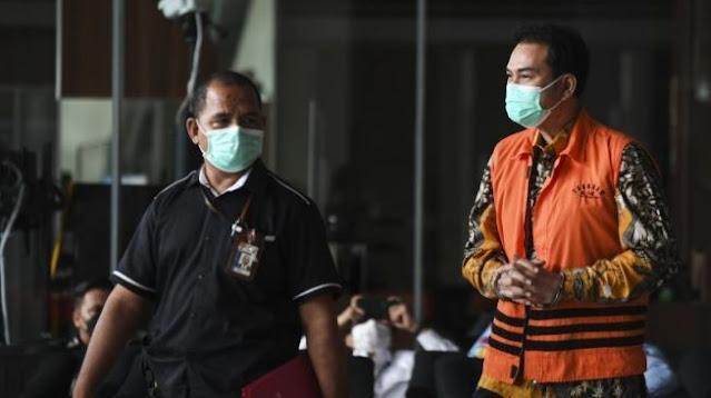 Penyidik Cecar Azis Syamsuddin Soal Beking 8 Orang Dalam KPK, Ini Jawabannya
