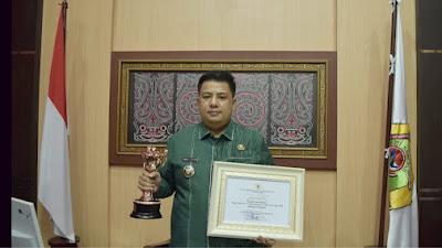 Selamat ! Pemerintah Kabupaten Samosir Raih Penghargaan Anugerah Parahita Ekapraya