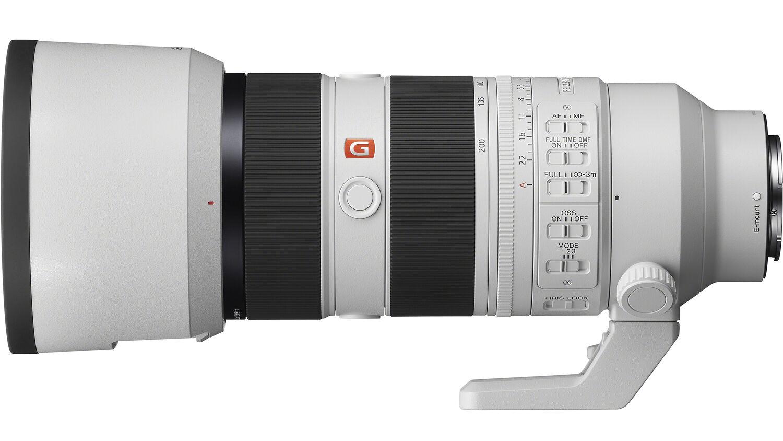 Объектив Sony FE 70-200mm f/2.8 GM OSS II с комплектной блендой