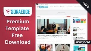 SoraEdge Premium Blogger Template Free Download