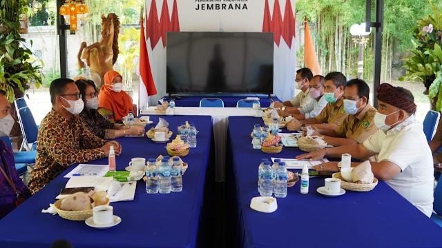 Raih WTP 7 kali berturut turut, Pemkab Jembrana Terima Penghargaan dari Kementerian Keuangan
