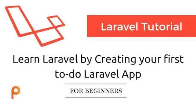 Laravel 8 Tutorial for Beginner: Create your First To-Do App