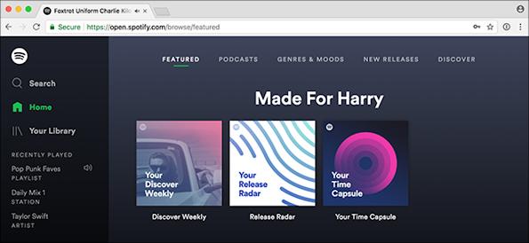 Spotify Web player preview-13