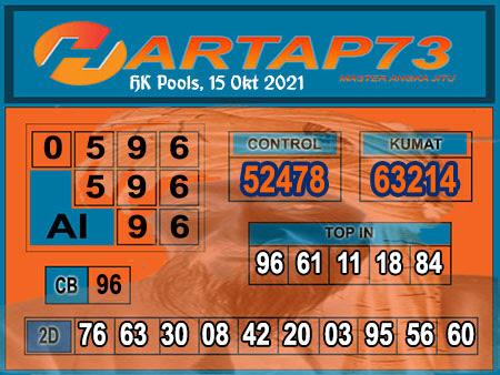 Hartap73 HK Jumat 15 Oktober 2021 -