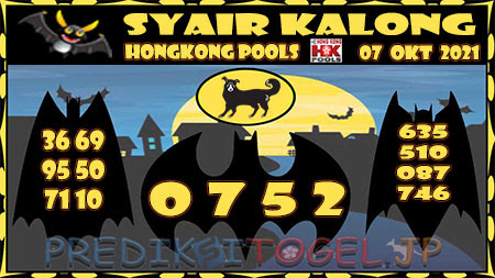 Kalong HK Kamis 07 Oktober 2021 -