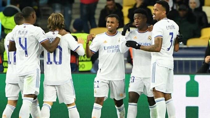 Shakhtar Donetsk 0 - 5 Real Madrid: Los Blancos hit five to run riot in Ukraine