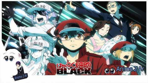 جميع حلقات انمي Hataraku Saibou Black مترجم بجودة عالية