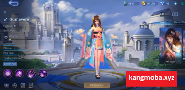 Script Skin Special Guinevere Sakura Wishes Full Effect Mobile Legends
