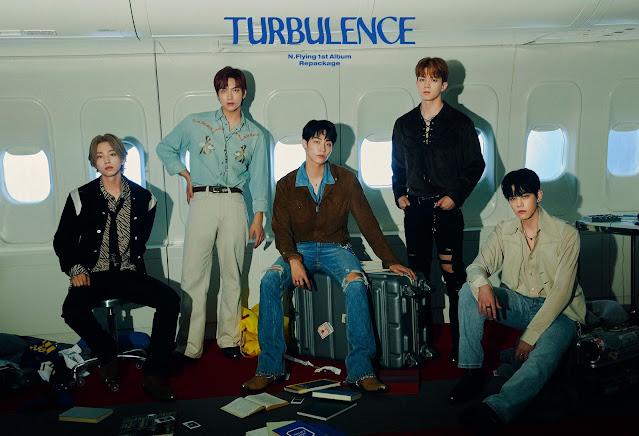 N.Flying, la banda de k-pop, hace comeback con turbulence