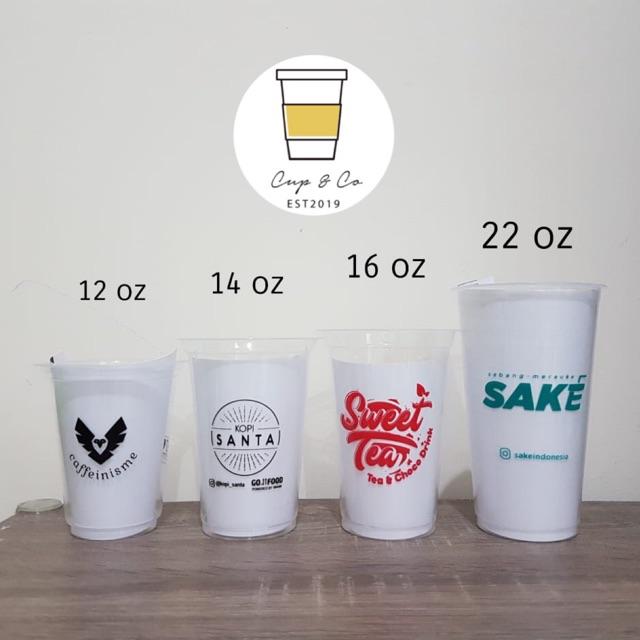 Rekomendasi Jasa Sablon Gelas Plastik & Paper Cup Banjarmasin, Kalimantan Selatan Murah