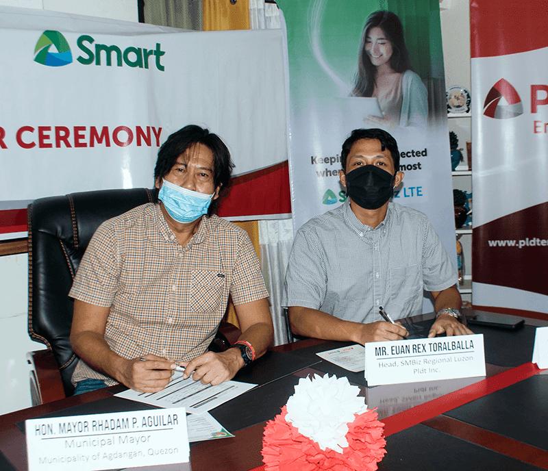 PLDT extends BEYOND FIBER connectivity in Agdangan, Quezon