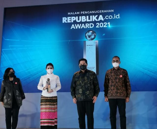 Konsisten Kontribusikan Solusi TIK untuk Tanggulangi Pandemi di Indonesia, Huawei Dianugerahi Inspiration Award 2021