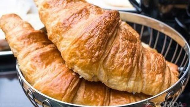 Receita de Croissants Folhados