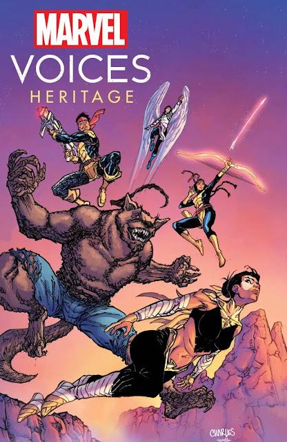 Marvel anuncia 'Marvel's Voices: Heritage' # 1 para noviembre
