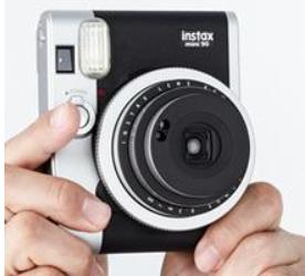Fujifilm Instax Mini 90 Neo Classic Instant Film Camera Modern Version of Classic Concept