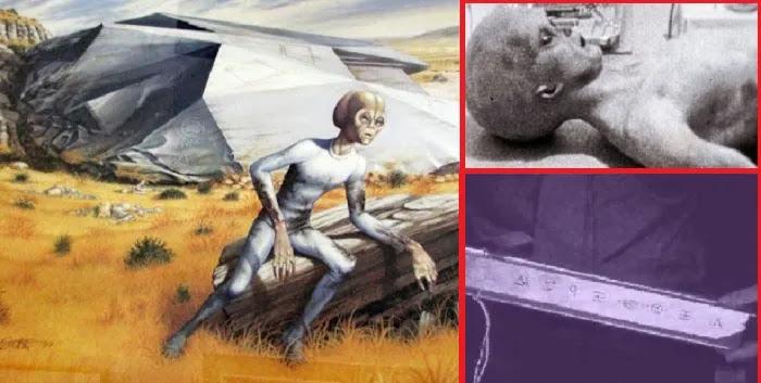 Χωρίς πεπτικά όργανα και χωρίς γεννητικά όργανα- περιέγραψε τους εξωγήινους  του Ρόσγουελ ένας αυτόπτης μάρτυρας