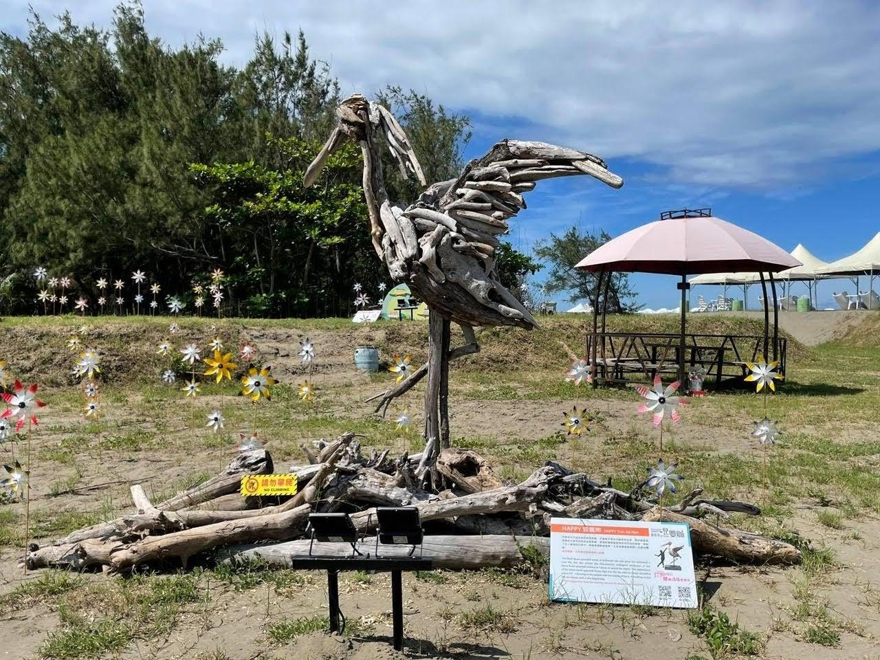 2021一見雙雕藝術季|馬沙溝漂流木雕地景藝術|8/21登場|活動