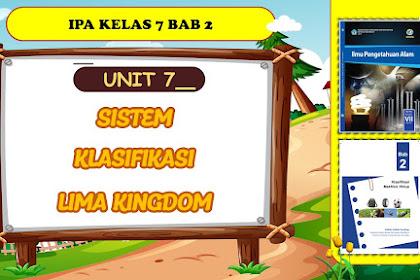 Rujukan Belajar IPA tentang Sistem Klasifikasi 5 Kingdom Dilengkapi Video Pembelajaran
