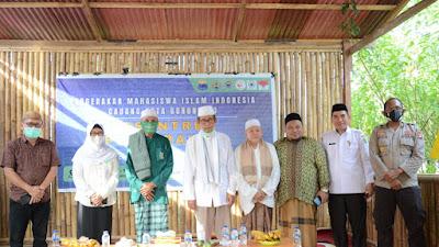 Pesantren Pergerakan PMII Resmi di Buka Rois Syuriah PWNU Gorontalo