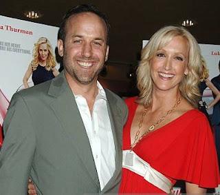 David Haffenreffer with his ex-wife Lara Spencer