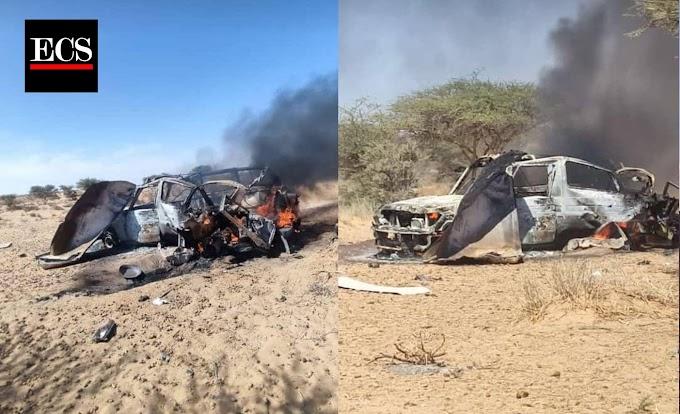 Dos civiles saharauis heridos tras un bombardeo marroquí con drones en Mheiriz.