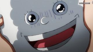 ワンピースアニメ ワノ国編 996話   ONE PIECE ゼウス ZEUS かわいい