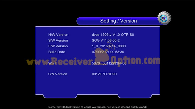 CROWN 9999 HD 1506TV 512 4MB NEW SOFTWARE WITH SUPER SHARE OPTION 07/09/2021