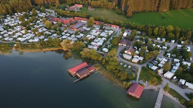 Camping Bannwaldsee von oben