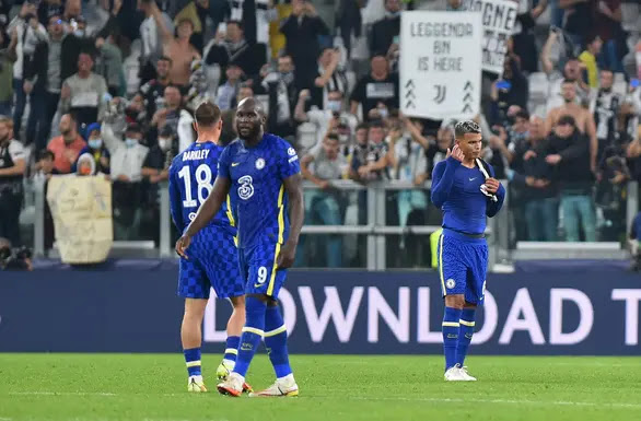 The defending champion Chelsea was caught in the Juventus trap. Photo: DM