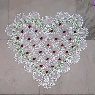 Simple Rangoli Designs For Home With Dots