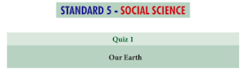 5th Social Science Basic Quiz Answer key