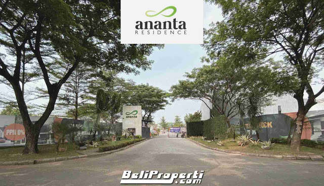 jual rumah cluster ananta residence