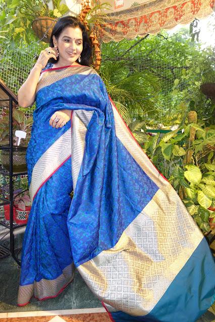 Banarasi Tanchoi saree