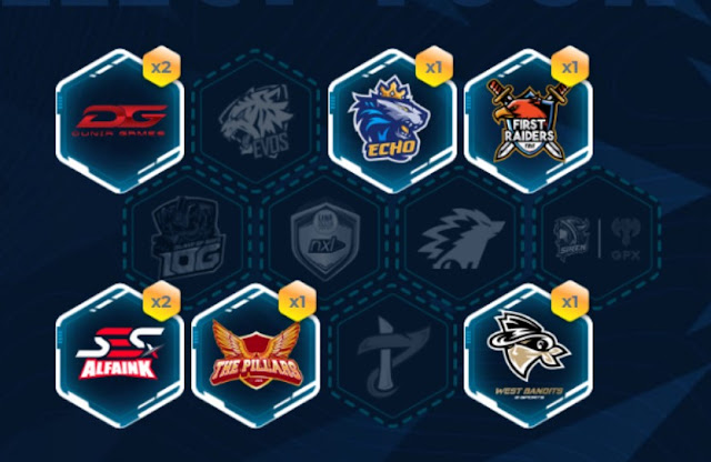 Bagi-bagi Logo Semua Team Event Collect Your Team Free Fire