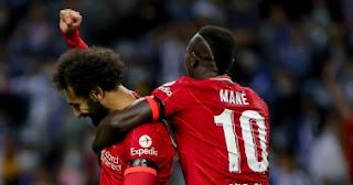 يتألق محمد صلاح ويقود ليفربول للفوز بخمس اهداف على بورتو في دوري أبطال أوروبا