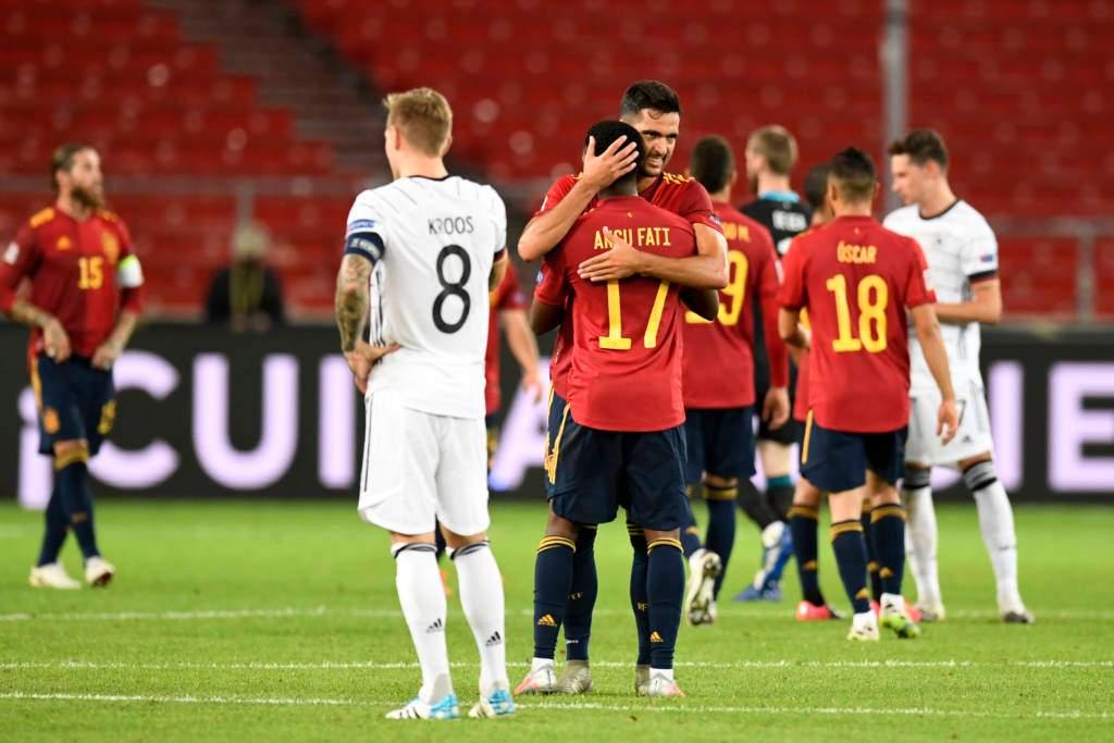 موعد مباراة فرنسا واسبانيا في نهائي دوري الامم الاوروبيه