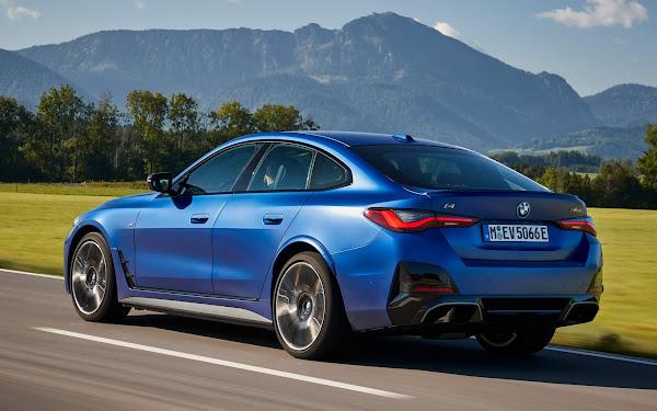 BMW i4 M50: электрический седан встретится с Audi e-Tron GT RS