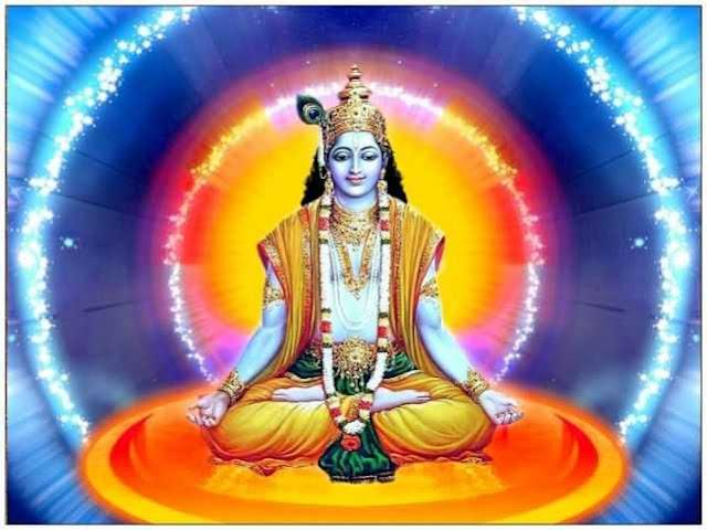 Krishna Meditating