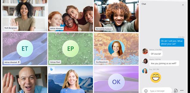 skype new update, skype colourfull, skype