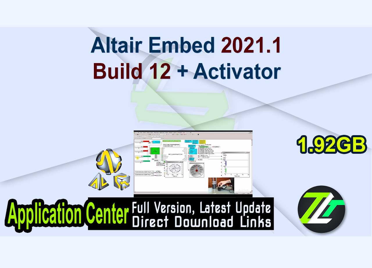 Altair Embed 2021.1 Build 12 + Activator