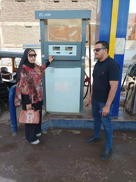 حماية المستهلك بسوهاج : حملات رقابية على محطات الوقود بعد رفع أسعار البنزين