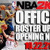 NBA 2K22 OFFICIAL ROSTER UPDATE 10.22.21 - Opening Night Roster Update (Added All New Rookies)