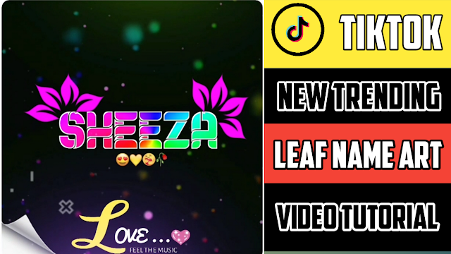 Leaf Name Art Video Status