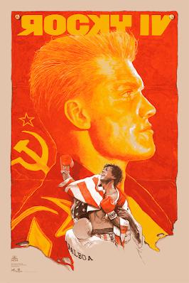 New York Comic Con 2021 Exclusive Rocky IV Screen Print by Gabz (Grzegorz Domaradzki) x Grey Matter Art