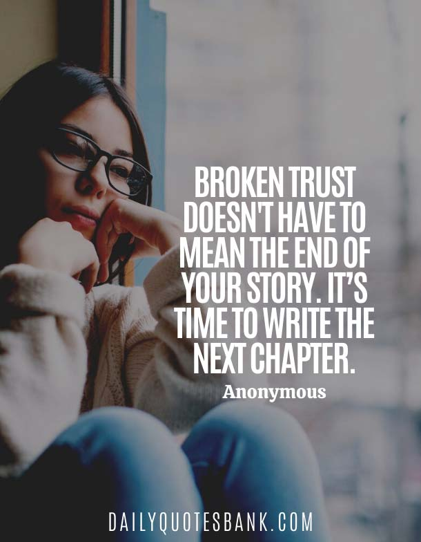 Anonymous Quotes About Broken Trust In A Relationship