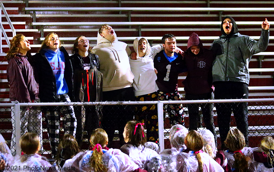 St. Joseph-Ogden student fans