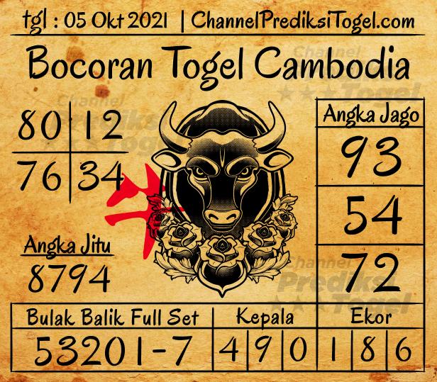 Bocoran Togel Cambodia