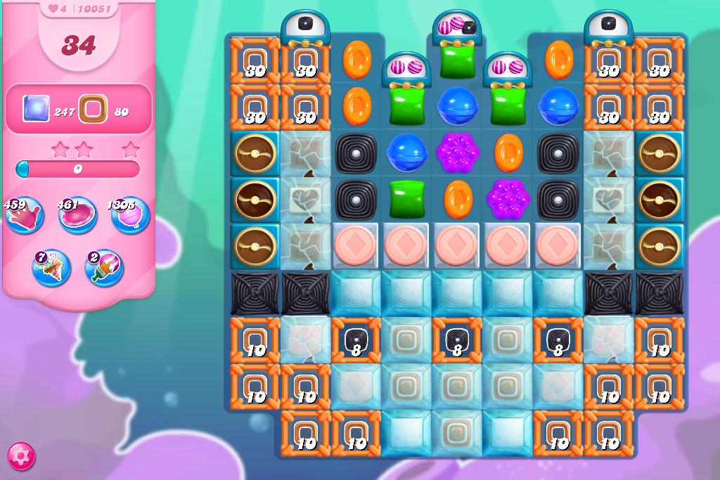 Candy Crush Saga level 10051