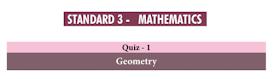 3rd Maths Basic Quiz Answer key