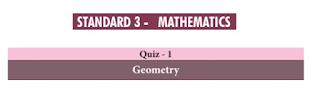 3rd Maths Basic Quiz Answer key  Tamil Medium and English Medium